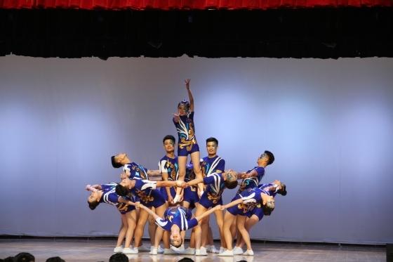 陕铁院举行第十三届校园健美操大赛